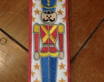 Embroidered Bookmark - Toy Soldier