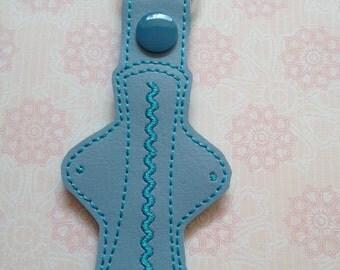 Cloth sanitary pad keyring