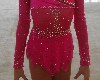 Rhythmic Gymnastics Leotard / Figure Skating Dress / Dance Gymnastics Leotard