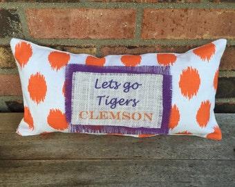 Clemson Tigers Pillow