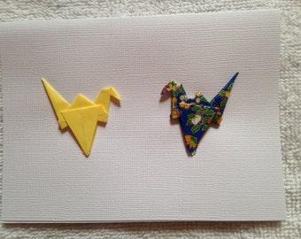 Peace Crane Cards