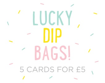 Lucky Dip Bag – Selection of Any Occasion Greeting Cards