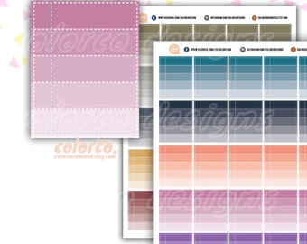 TO DO ombre checklist Printable Planner Stickers Erin Condren Happy Planner Inkwell Plum Paper Instant Digital Download