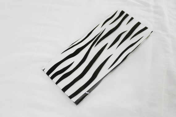 25 Zebra Cellophane Bag for Party Favors, Gift Bag or Packaging - 3-1/2x7-1/4
