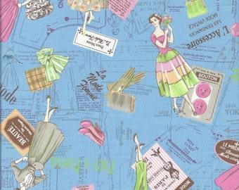Paris Mode  (Color B) by Suzuko Koseki for  Yuwa of Japan