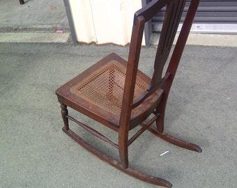 Post WWII nursing/rocking chair...FREE shipping!