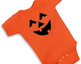 Pumpkin Baby Bodysuit or Tshirt - Halloween Costume - Baby Shower