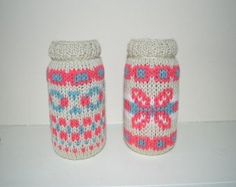 Fairisle Jar Desk Tidy