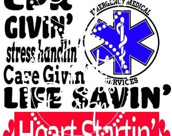 911 Respondin Paramedic Design SVG Studio Vector Wall Design