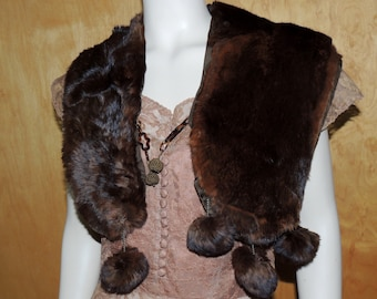 Victorian Red Sable Neck Fur piece