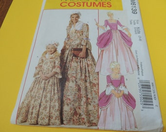 McCalls 6139 Childs Costume Pattern Uncut, sizes 3-8