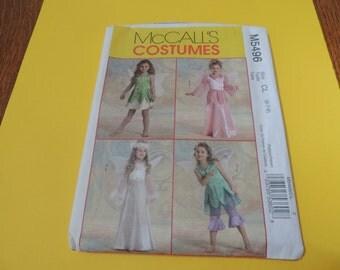 McCalls 5496 FAIRY Halloween Costume Pattern sizes 6,7,8, Girls Uncut