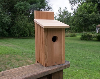 Cedar and Cypress Birdhouse
