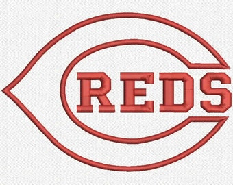C REDS Applique Embroidery Design