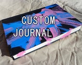 Custom Journal by Domino the Pit Bull