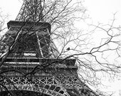 SALE 50 %OFF Paris 2016 Calendar in black and white - 12months loose leaf Romantic Wall Decor Travel Photography - Wanderlust Gift