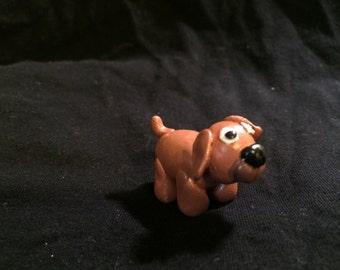 Little Brown Puppy Game Pieces