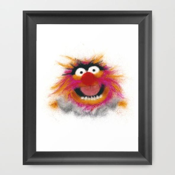 Muppets Animal Free Printable: Animal INSTANT DOWNLOADThe Muppets Digital Art Television