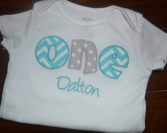 ONE first birthday Bodysuit or Shirt