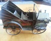 Vintage Antique Wind Up Musical Car