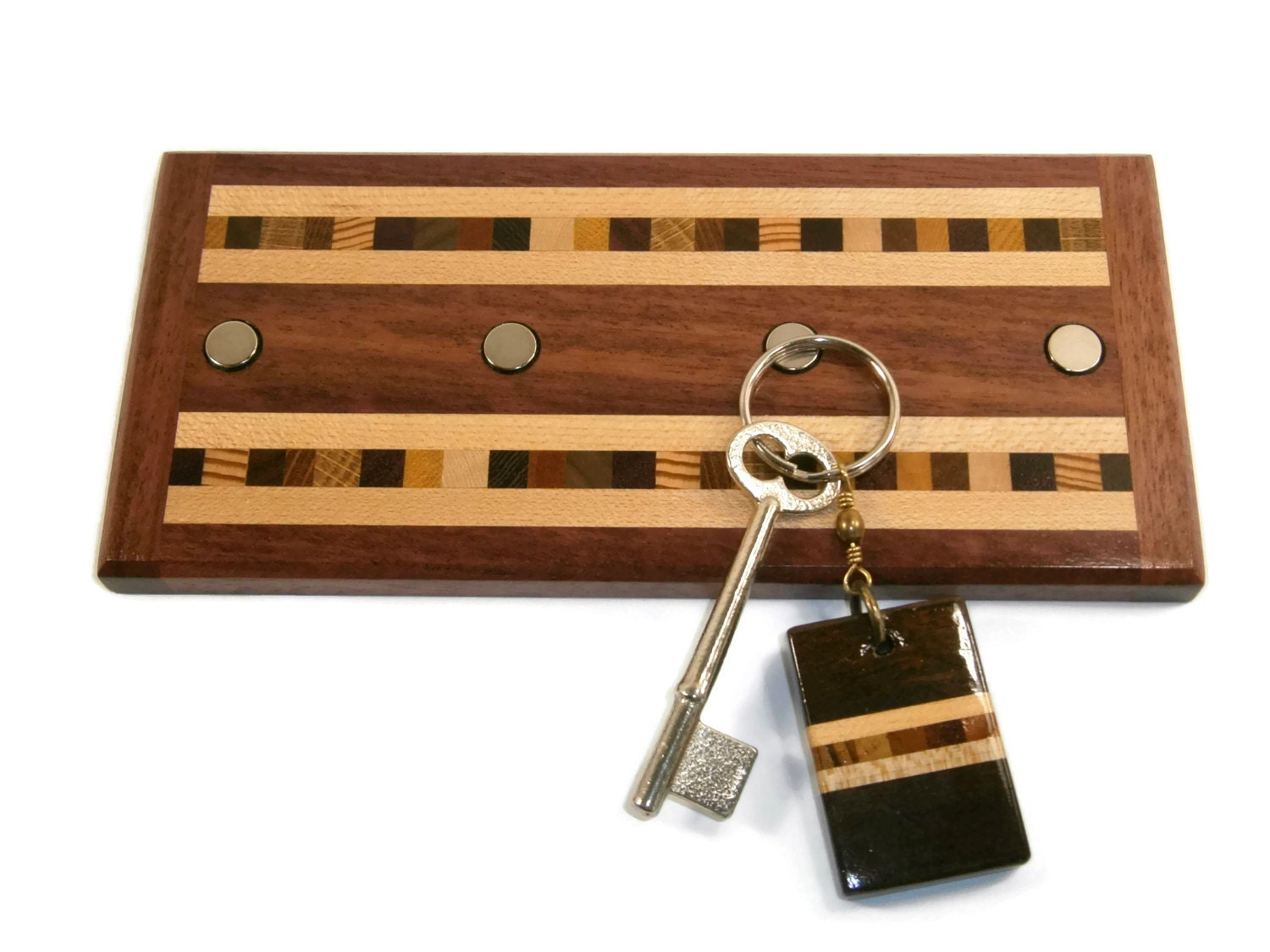 Key Holder Wood Key Holder Decorative Keyholder Wall