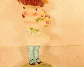"""Vintage-Beswick-Joan Walsh Anglund-Ceramic Figurine-Made In England-4 3/4"""" Tall"""