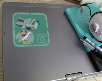 Gainax Series - FLCL Canti Vinyl Decal