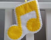 Yellow Quaver Decoration