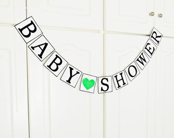 FREE SHIPPING, Baby Shower Banner, Baby shower decorations, Baby gender announcements, Baby photo prop, Mother and baby gift, Boy, Girl