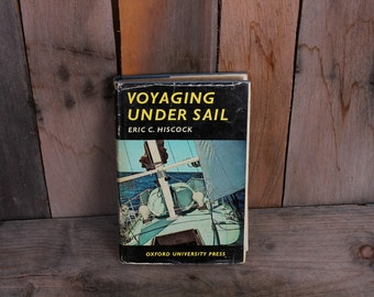 1966 Voyaging Under Sail Sailling Reference How To Guide Mid Century Photographs