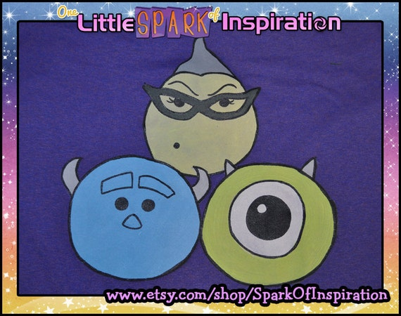 Tsum Tsum Monsters Inc University Sully Roz Mike Wazowski Boo