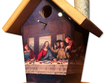 The Last Supper Birdhouse
