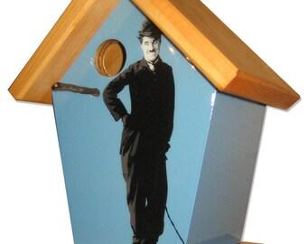 Charlie Chaplin Birdhouse