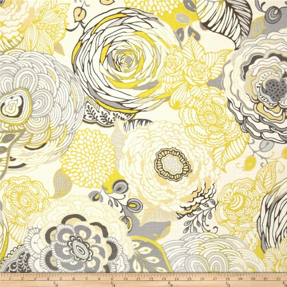 Kitchen Curtains Yellow And Gray: You Choose Kitchen Valance Gray And Yellow By