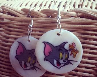 Tom & Jerry Earrings