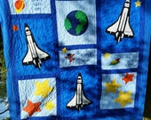 Space Bedding, Custom Boy Bedding, Twin, Full, Queen, Girl Bedding, Rocketship, Solar System, Planets, Universe, Outer Space, Boy, Kids.NASA