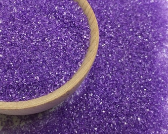 Lavender Sanding Sugar - Cake Cookie Cupcake Sprinkles - Baking Candy Making Party Supplies