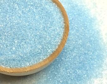 4 oz. Soft Blue Sanding Sugar - Edible Sprinkles - Cake Cookie Ice Cream Sprinkles - Baking and Decorating Supplies