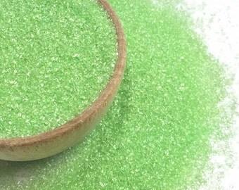 Lime Green Sanding Sugar - Cake Cookies Cupcake Sprinkles - Baking Candy Making Party Supplies