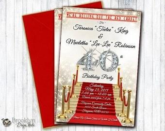 Printed Sample Invitation