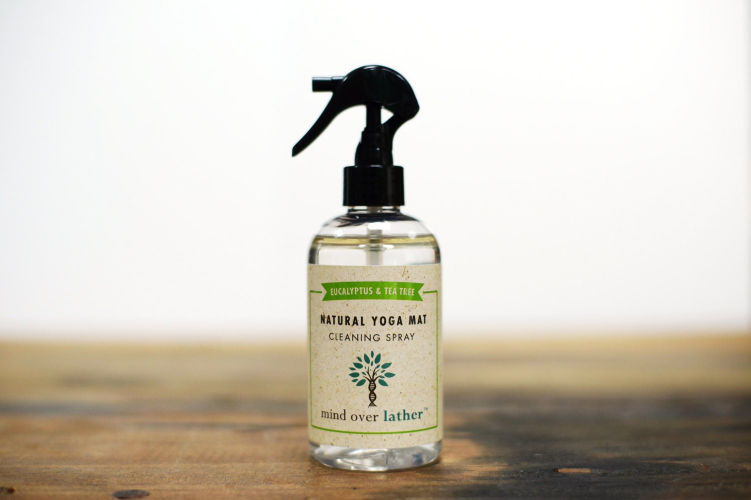 Eucalyptus Amp Tea Tree Natural Yoga Mat Spray Cleaner 8oz