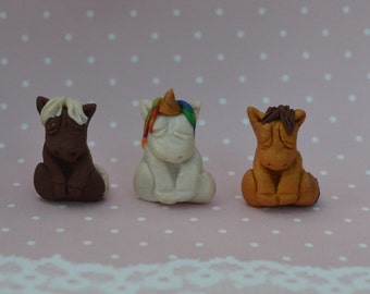 Mini Ponies and Unicorns Fariy garden, terrarium
