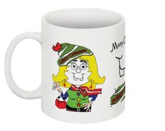Mary Crismus Coffee Mug