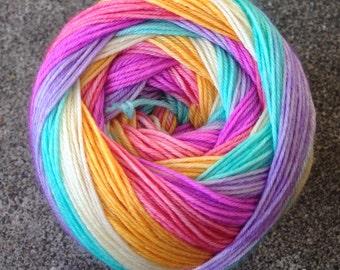 Self Striping Sock Yarn - Drops of Jupiter