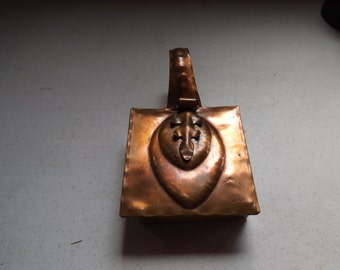 Solid Gregorian Copper Crumb Catcher Silent Butler