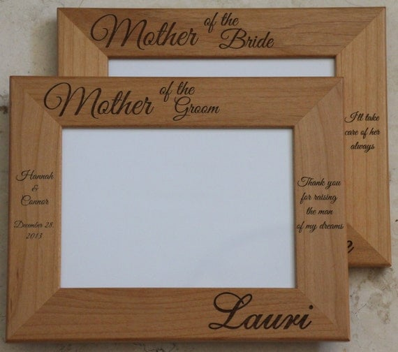 ... Frame, Laser Engraved Wood Picture Frame, Personalized Picture Frame