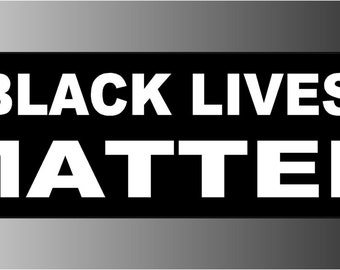 Black Lives Matter Sticker Decal
