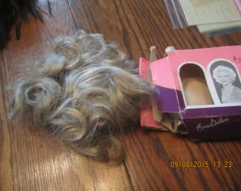 Eva Gabor Wig Hairpiece Halloween Original Box Vintage