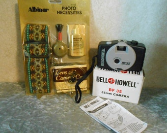 35 mm New Bell & Howell Camera and Photo Necessities Kit