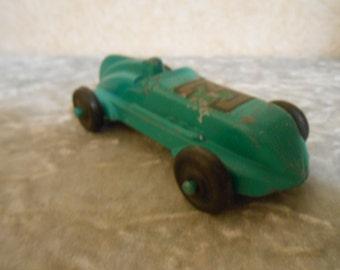 1950's Metal Rare Race Car